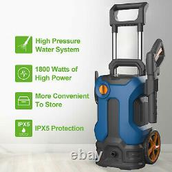 Electric Pressure Washer 3500 PSI 2.6GPM Water High Power Jet Wash Patio Car New