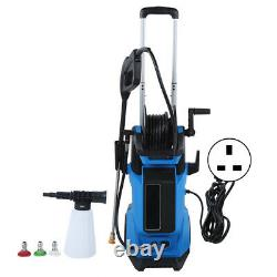 Electric Pressure Washer 3800PSI Water High Power Jet Wash Patio Car Cleaner Set