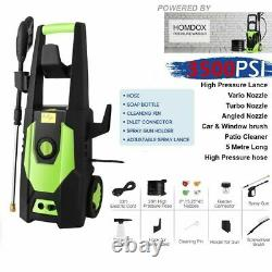 Electric Pressure Washer High Power 3000 PSI/150 BAR Water Jet Patio Cleaner UK