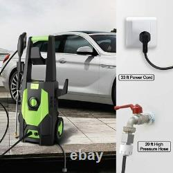 Electric Pressure Washer High Power 3500PSI Water Jet Patio Cleaner 150BAR 1800W