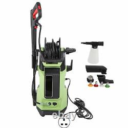 Electric Pressure Washer High Power Jet 2200PSI/150BAR Hose Water Wash Patio Car