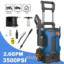 Electric Pressure Washer High Power Jet 3500 PSI 2.6GPM Water Wash Patio Car UK