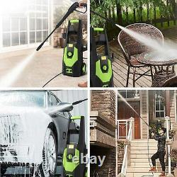 Electric Pressure Washer High Power Jet Wash Garden Patio Cleaner 3500PSI/150BAR