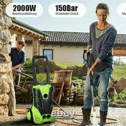 Electric Pressure Washer Power Jet Water 3000PSI 150BAR 450l/h Patio Car Cleaner