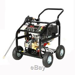 Farming 250Bar/ 3600PSI 15Hp Petrol Power Pressure Washer Jet Cleaner Contractor