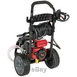 Gas Petrol Pressure Washer 4 Stoke Engine 2200 PSI High Power Washers 2.4GPM Jet