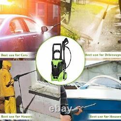 Homdox Electric Pressure Washer 3000psi Water Power Jet Sprayer High Power Clean