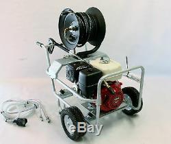 Honda Petrol Pressure Power Washer Gx390 / 13 HP Engine 4000 Psi At 17 Litres