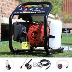 Jet 1590 PSI High Pressure Washer 110 Bar Petrol Power Washer + Portable Barrel