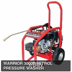Kiam Warrior 3000P Industrial Petrol Pressure Power Jet Washer Cleaner 3000PSI