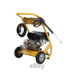 NEW 3000 PSI 7.0HP Petrol Powered Jet High Power Pressure Washer 4.7L Fuel Tank