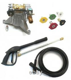 New 3100 PSI POWER PRESSURE WASHER PUMP & SPRAY KIT Campbell Hausfeld PW205015LE