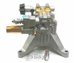 New 3100 PSI POWER PRESSURE WASHER WATER PUMP AR RMW2.2G24-EZ replacement EZ