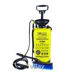 New 8l 40 Psi Portable Pressure Power Washer Hand Pump Up Power Jet Car Wash Van