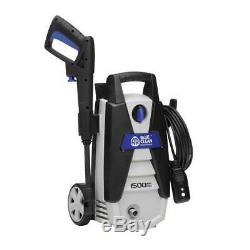 New AR Blue Clean 1500 PSI Electric Power Washer AR112S