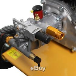 New quality 3000psi 7.0HP Petrol Powered Jet Pressure Washer 10L Fuel Tank