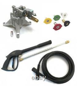 POWER PRESSURE WASHER WATER PUMP & SPRAY KIT for Black Max BM80913 BM80919