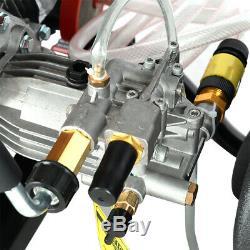Petrol High Power 2600 PSI 7HP Pressure Jet Washer Industrial Cleaner Reel Hose