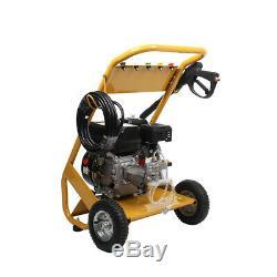 Petrol High Power Pressure Jet Washer 3000PSI 240Bar 6.5HP Engine With Gun Hose