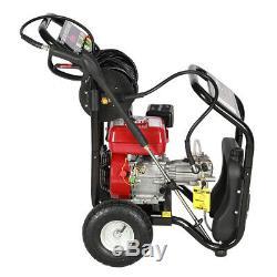 Petrol High Power Pressure Jet Washer Cleaner 8HP 3950PSI 272Bar Spray Gun Hose