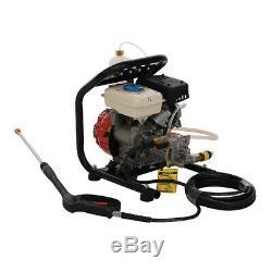 Petrol High Pressure Washer 1300PSI / 90BAR 3.0HP Power Jet Cleaner Washing Unit