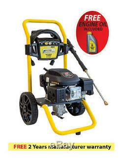 Petrol Power Pressure Jet Washer Portable 3100PSI WASPPER With Gun and Hose