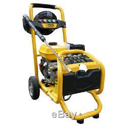 Petrol Pressure Power Washer RocwooD 3000 PSI 8HP 4 Stroke High Jet Washer