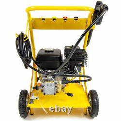 Petrol Pressure Washer 3000psi 200bar 6.5HP Petrol Power Washer & Patio Cleaner