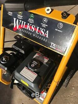 Petrol Pressure Washer 3950PSI / 272BAR POWER JET CLEANER WILKS-USA TX625i