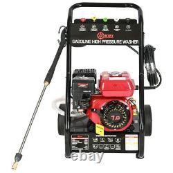 Petrol Pressure Washer 3950psi 8HP Engine Power Jet Cleaner High Power Garden UK