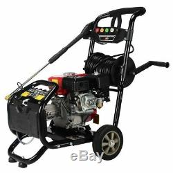 Petrol Pressure Washer 8.0HP 3950psi AWESOME POWER T-MAX PRO 28 METER HOSE