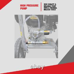 Petrol Pressure Washer RocwooD 3100PSI 212cc Jet High Power