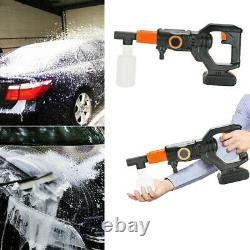Portable Cordless Pressure Washer Car Power Cleaner 320PSI with 2.0A Battery UK