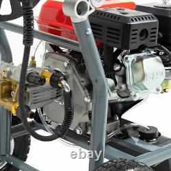 PowerKing Petrol Pressure Washer 3480psi 250 7HP Wolf Engine Power Jet Cleaner
