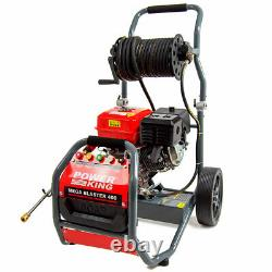 PowerKing Petrol Pressure Washer 4351psi 400 9HP Wolf Engine Power Jet Cleaner