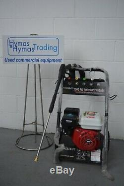 Power Kraft petrol pressure washer 2500Psi 6.5Hp engine NEW UNUSED