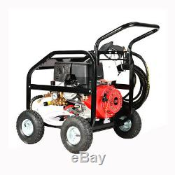 Powerful Black Pressure Washer 15hp Engine 4800psi Commercial Home Use Pump Unit