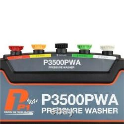 Powerful Petrol Power Pressure Washer 3000 PSI 207 BAR Jet Washer Hyundai
