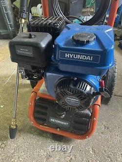 Powerful Petrol Power Pressure Washer Jet Washer 3000 PSI 207 BAR 7 HP Hyundai