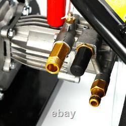 Pro Heavy Duty 170 BAR 2465PSI Petrol Driven Pressure Power Jet Washer 7.5HP UK