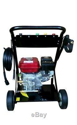 Progen Petrol Power Jet Washer 2500psi 6.5hp Engine With Gun Hose Free Oil
