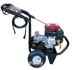 Progenb Petrol Power Pressure Jet Washer 2500psi Engine With Gun Hose Easy Start