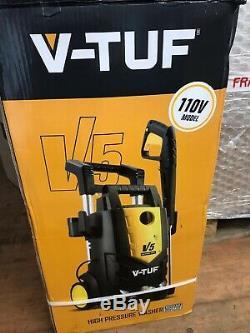 V5 V-Tuf pressure washer power jet wash 2175 PSI 150 Bar site builders 110V
