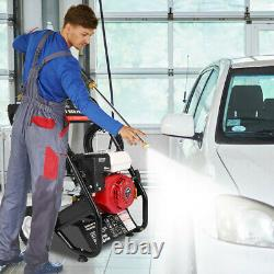 VEHPRO Petrol Power Pressure Jet Washer 3000PSI 7HP Engine With G-un Hose