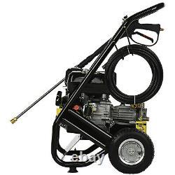 VEHPRO Petrol Power Pressure Jet Washer 3950PSI 6.5HP Engine With Gun Hose Kit