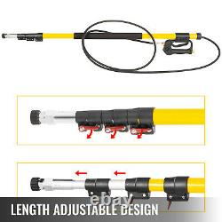 VEVOR High Pressure Power Washer Wand Cleaning Spray Nozzles Telescopic 4000psi