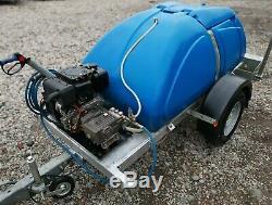 Western Bowser / Yanmar L100 10hp Industrial Diesel Pressure Washer Jet Power