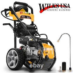 Wilks TX750I USA Pressure Washer 3950PSI / 272BAR Petrol Jet Power Washer