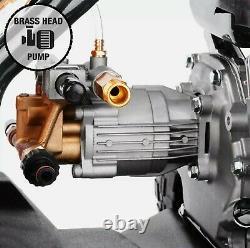 Wilks-USA Pressure Washer 3950PSI / 272BAR Petrol Jet Power Car Wash Cleaner