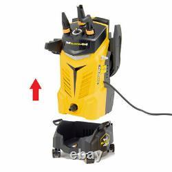 Wolf Electric Pressure Washer 2400psi Water Power Jet Sprayer Yellow High Power